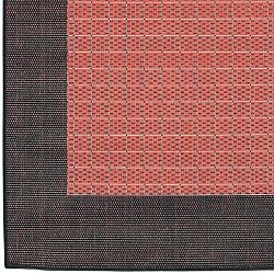 Terra Cotta And Black Outdoor Rugs Home Infatuation