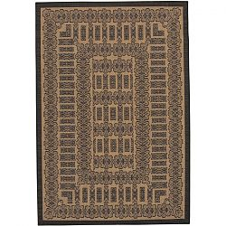 Cocoa and Black Tamworth Pattern Rugs