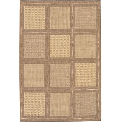 Natural and Cocoa Summit Pattern Rugs