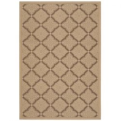 Sorrento Cream and Gold Outdoor Rug
