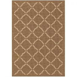 Sorrento Gold and Cream Outdoor Rug