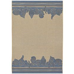 Shoreline Cream and Blue Rug