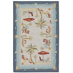 Pacific Heights Ocean Outdoor Rug