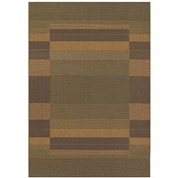 Rehoboth Green and Natural Rug
