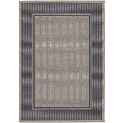 Astoria Charcoal and Grey Outdoor Rug