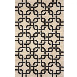 Black Chains Area Rug