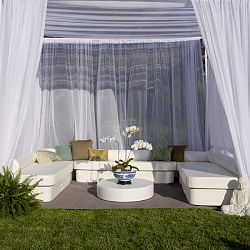 13' x 13' Zen Suite of Outdoor Furniture