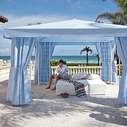 la-Fete Design Outdoor Suite includes Daybed and Pavillion