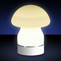 Moonlight - Prismatek Tabletop Rechargeable Mushroom Lamp