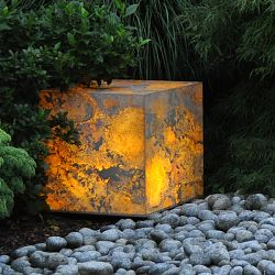 Moonlight - Prismatek Lighted Sandstone Cube