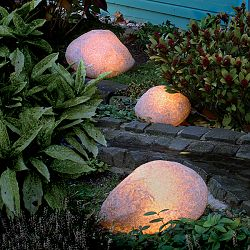 Moonlight - Prismatek Illuminated Outdoor Granite Stones