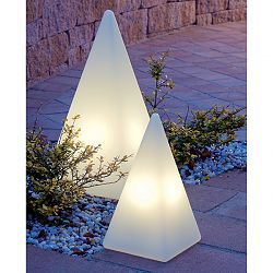 Moonlight - Prismatek Pyramid Illuminated Outdoor Lamp