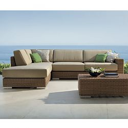 Golf Modular Wicker Sectional Sofa