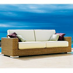 Golf Outdoor Wicker Loveseat and Sofa