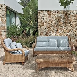 Kenya Wicker Outdoor Lounge Chair