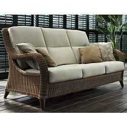 Kenya Outdoor Wicker Sofa and Chair