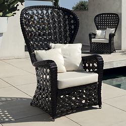 Emmanuel Wicker Outdoor Chair