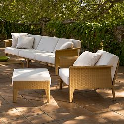 The ''U'' Outdoor Sofa and Lounge Chair