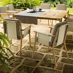 Hamp Teak Dining Table and Chairs