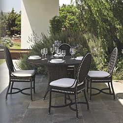 Monaco Outdoor Dining Table and Chairs