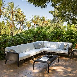 Point Outdoor Wicker Sectional