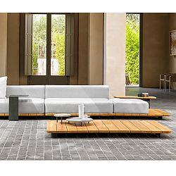 Pal Teak Sectional