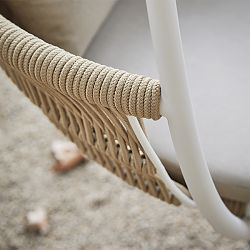 Cream Frame/Nougat Rope