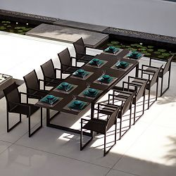 Ninix Glass Dining Table