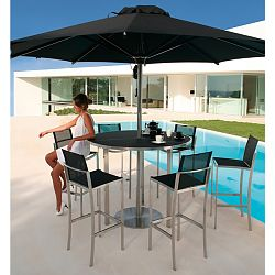 Outdoor Umbrellas Patio Caravita Modern Large Umbrella - Commercial table umbrellas