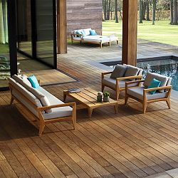 Zenhit Teak Sofa and Chair Collection