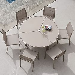Ozone Ceramic Top Dining Table