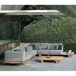 Vigor Teak Outdoor Sectional