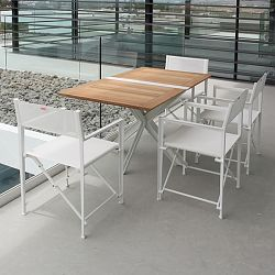 Traverse Folding Teak Table