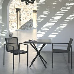 Folding Bistro Table and Chair Collection