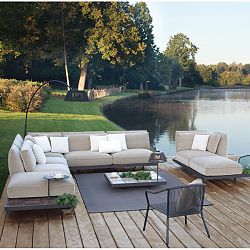 Mozaix Patio Sectional Seating
