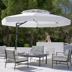 Belvedere Round Offset Umbrella