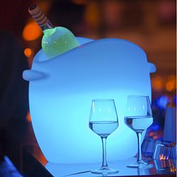 Fresh Illuminated and Rechargeable Ice Bucket