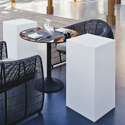 Space Lighting Block Illuminated Outdoor Table