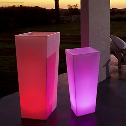 Space Lighting Rumba Illuminated Planter