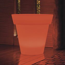 Space Lighting Gota Illuminated Outdoor Planter