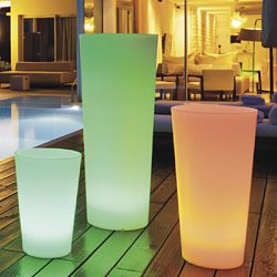 Space Lighting Tango Illuminated Planter