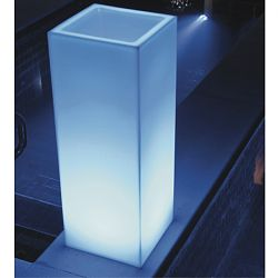 Space Lighting Mambo Illuminated Outdoor Planter