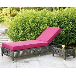 Home Infatuation Pacific Collection Contemporary Chaise