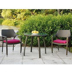 Bermuda Collection Outdoor Bistro Table and Chairs