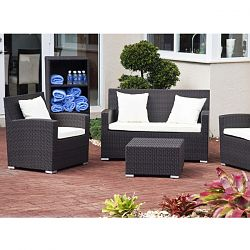 Antiqua Collection Outdoor Love Seat and Lounge Chair