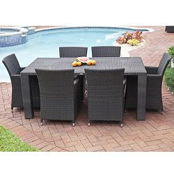 Antiqua Collection Outdoor Dining Table and Chairs