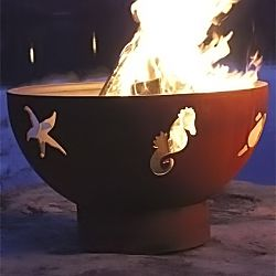 Sea Creatures Fire Pit