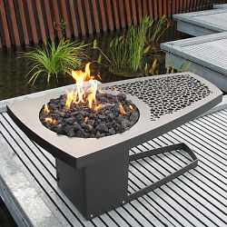 Fire Pit Table by Artisan John Xochihua
