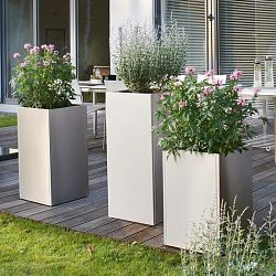 Ordinaire Blomus Stainless Steel Tall Planters