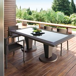 St. Tropez Outdoor Dining Table and Chairs